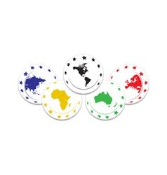 Olympic symbol vector