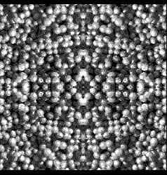 Monochrome glitch seamless pattern vector