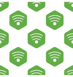 Wi-fi sign pattern vector