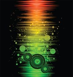 Disco club flyer vector image