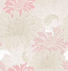 Flower pattern vector