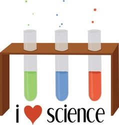 Love science vector