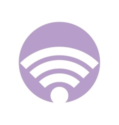 Wifi connection internet symbol vector