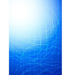 Flash background - bright and modern vector image