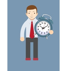Time management productivity planning and vector