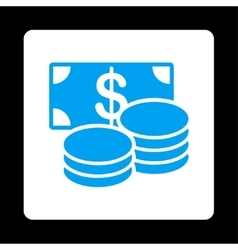 Cash icon vector
