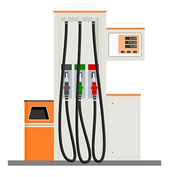 Modern Gas Pump vector image
