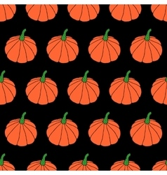 Cartoon halloween pumpkin background vector