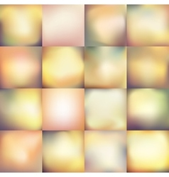 Smooth blurred backgrounds EPS 10 vector image