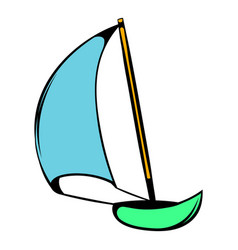 Yacht icon icon cartoon vector