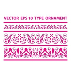 Fairy tape ornament vector