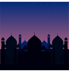 A blue religious background with vector