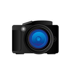 black camera icon image vector image vector image