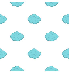 Summer cloud pattern flat vector