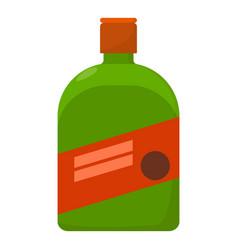 Liquor icon cartoon style vector