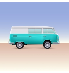 Classic bus vector image