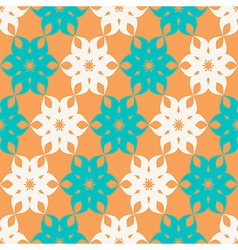 Stylized floral pattern vector