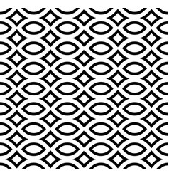 monochrome seamless pattern black white mosaic vector image