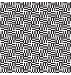 Pattern black graphic collection on white vector