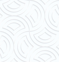 Quilling paper semi circles pin will vector