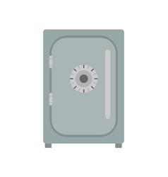 Safe icon vevtor lock box bank security deposit vector