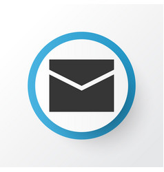 Mail icon symbol premium quality isolated letter vector