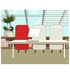 Home Office Background vector image vector image