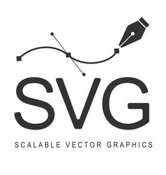 scalable graphics format svg responsive vector image vector image