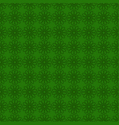 Seamless background with green design st patrick vector