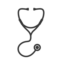 Stethoscope icon medical and health care vector