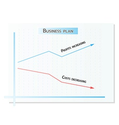 Business plan vector