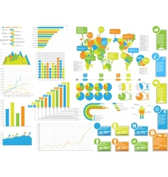 INFOGRAPHICS ELEMENTS 3 SPECIAL EDITION vector image vector image