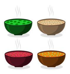The theme soup vector