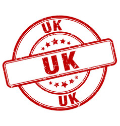 Uk stamp vector