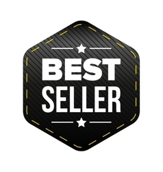 Best seller black patch vector