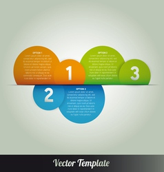Page number template vector