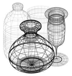 3d pieces vector