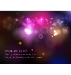 Shine bokeh background vector
