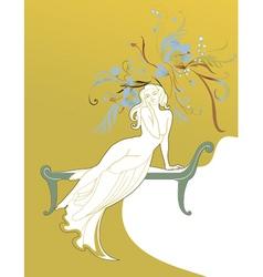 Fairy princess vector