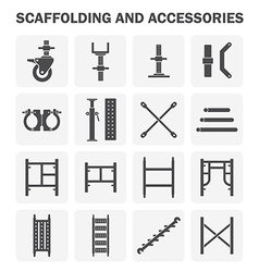 Scaffolding icon2 vector