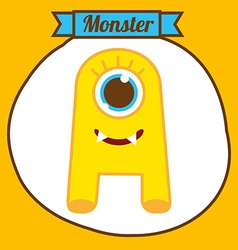 Monster design vector