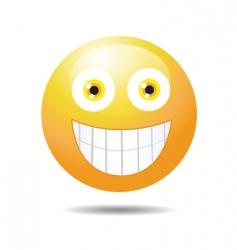 teeth smile vector image