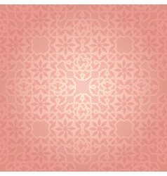 Lace pink vector