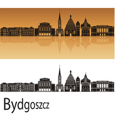 Bydgoszcz skyline vector