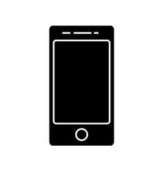 smartphone cell icon sig vector image