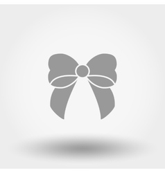 Bow flat icon vector