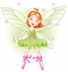 cartoon fairy vector image