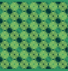 Green abstract lines background vector