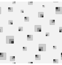 Square chaotic seamless pattern 203 vector image