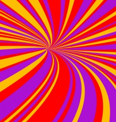 speed tunnel vector image